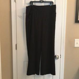 Lane Bryant wide leg dress pants
